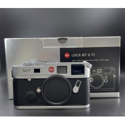 Leica M7 Film Camera 0.72 Silver Chrome Finish (10504)