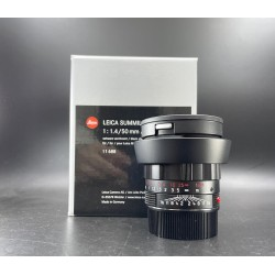 Leica Summilux-M 50mm F/1.4 ASPH Black Chrome Finish (11688)
