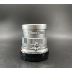 Leica summicron 50mm f/2 Rigid silver
