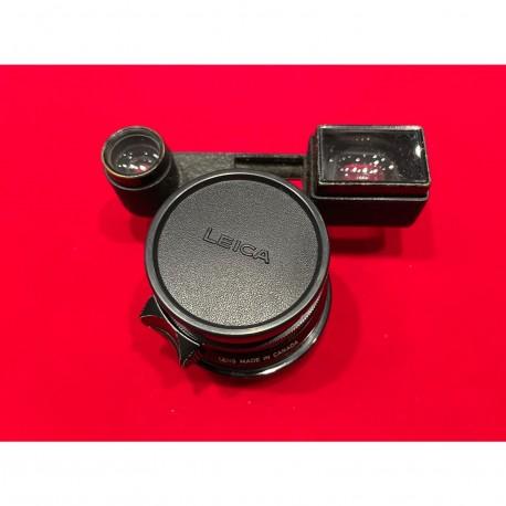 Leica Summicron-M 35mm F/2 v1 (8 elements) Goggles original Black Paint