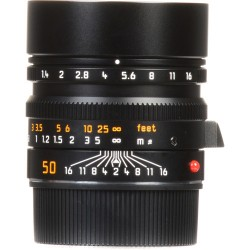 Leica Summilux-M 50mm f/1.4 ASPH. Lens (Black) 11891 (Brand New)