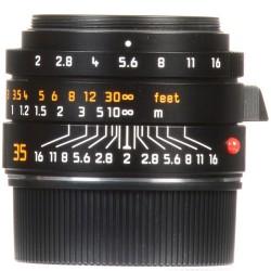 Leica Summicron-M 35mm f/2 ASPH Lens (Black) 11673 (Brand New)