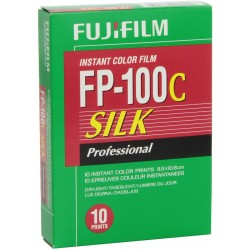 Fujifilm FP-100C Silk Professional Instant Color Film ISO 100 (10 Exposure, Glossy)