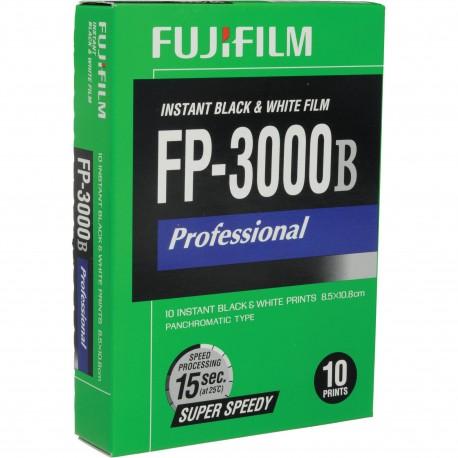 Fujifilm FP-3000B Professional Instant Color Film ISO 100 (10 Exposure, Glossy)