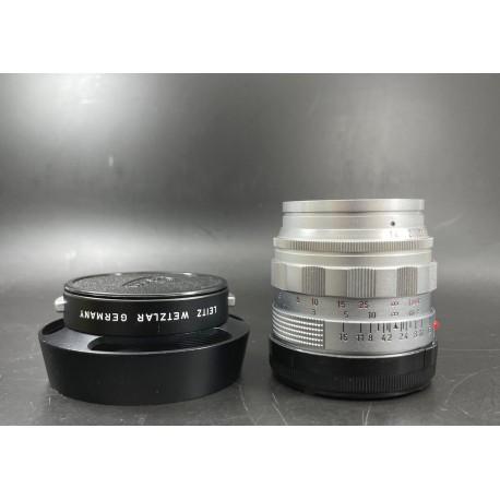 Leica Summilux 50mm F/1.4 Ver 2 Silver
