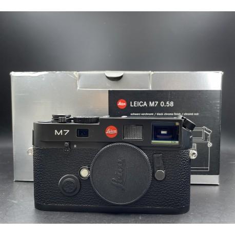 Leica M7 Film Camera 0.85 Black (10501)