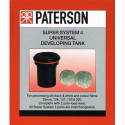 Paterson Super Sysem 4 Universal developing tank (with two reels) DEV