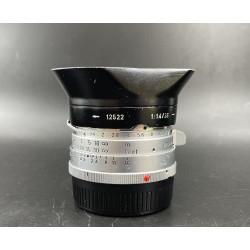 Leica Summilux 35mm F/1.4 Steel Rim Canada