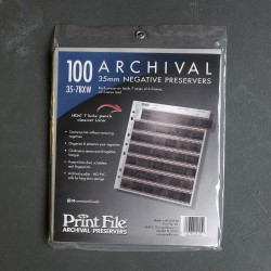 Print File 100 Archival 35mm Negative Preservers