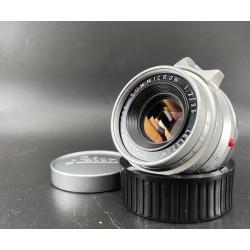 Leica Summicron 35mm F/2 v1 Silver (8 Element)