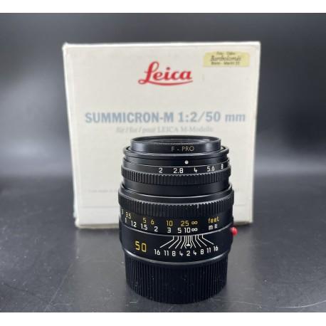 Leica Summicron-M 50mm F/2 v5 Black