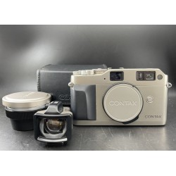 Contax G1 Film Camera With Hologon 8/16 T Lens & GF-18mm Viewfinder