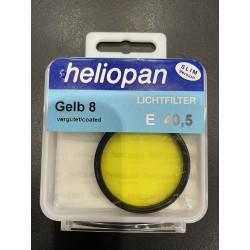 Heliopan Gelb 8 E40,5 Lichtfilter