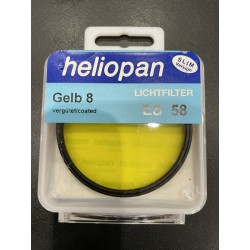Heliopan Gelb 8 ES58 Lichtfilter