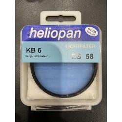 Heliopan KB 6 ES 58 Lichtfilter