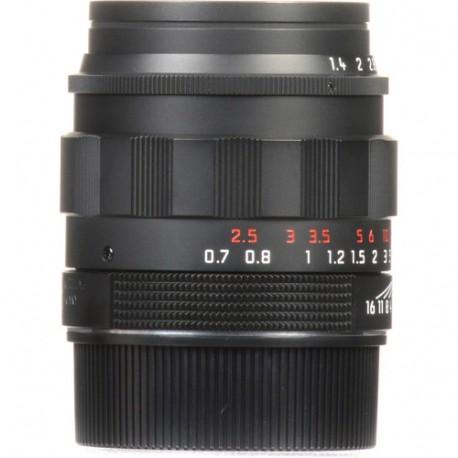 Leica Summilux-M 50mm f/1.4 ASPH. Lens (Black-Chrome Edition)