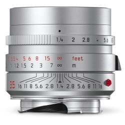 Leica Summilux-M 35mm f/1.4 ASPH. Lens (Silver) 11675