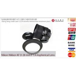 nikon nikkor af d 28mm/f1.4 aspherical