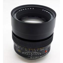 Leica Summilux -R 80mm f/1.4 (3-cam)