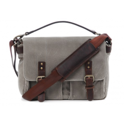 THe Leather Prince street Camera messenger bag