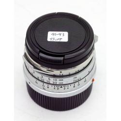 Leica Summilux 35/1.4 v.1 (Steel Rim)