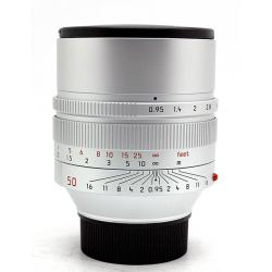 Leica Noctilux-M 50mm f/0.95 ASPH Lens (Silver) 11667