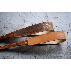 Anchor Bridge leather camera strap - Kudu & Buttero