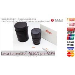 Leica Summicron-M 90mm f/2 Pre-Asph