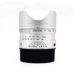LEICA SUMMARIT-M 50mm f/2.4 (Silver) 11681