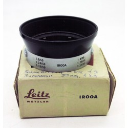 Leica IROOA hood for 35/50mm lens