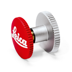 Leica Red Logo Soft Release Button (12mm)