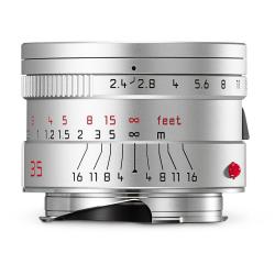Leica Summarit-M 35mm f/2.4 ASPH Lens (Silver) 11679