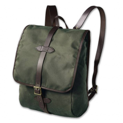 Filson tin cloth backpack 70017