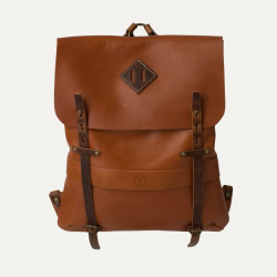 Bleu de Chauffe coursier leather backpack