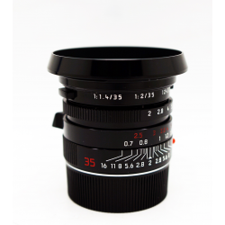 Leica Summicron-M 35mm/f2 ASPH (Black Paint)