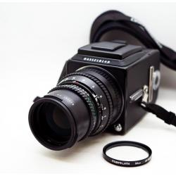 Hasselblad 500cm + Sonnar 150mm f/4+A12
