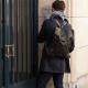 Bleu de Chauffe coursier backpack waxy