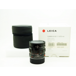 Leica Summilux-M 50mm f/1.4 Pre-ASPH (Black paint) 11623