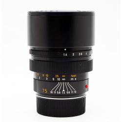 Leica Summilux M 75mm f/1.4 v.2 Internal hood