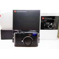 Leica M Monochrom Black Chrome