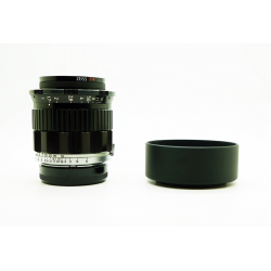 Kinoptik fulgior 50mm f1.3 (modified to Leica M mount) (cine lens)