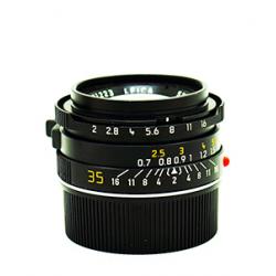 Summicron-m 35mm/f2 7 element black