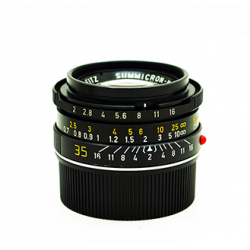 Leica Summicron-M 35mm f/2 (7 element) black