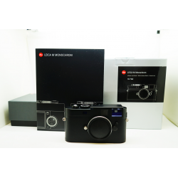 Leica M Monochrom Digital Camera BLACK (10760)