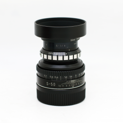 Dallmeyer Super-Six 50mm f/1.9 (modified to Leica M) (cine lens)