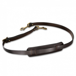 LEATHER SHOULDER STRAP WITH PAD