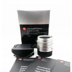 Leica Summicron M 28mm f/2 ASPH Silver