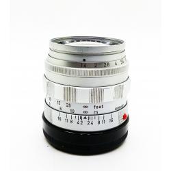 Leica Summilux-M 50mm f/1.4 v.1 Silver