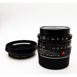 Leica Summicron-M 35mm f/2 ASPH Black Paint