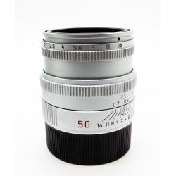 Leica Summicron-M 50mm f/2 v.5 Internal hood (silver)